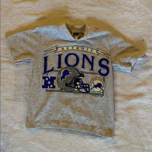 Vintage 1991 Detroit Lions Tee